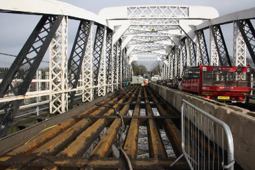 Acton Bridge works