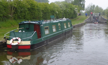 Moored lock Weston