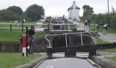 b foxton top locks